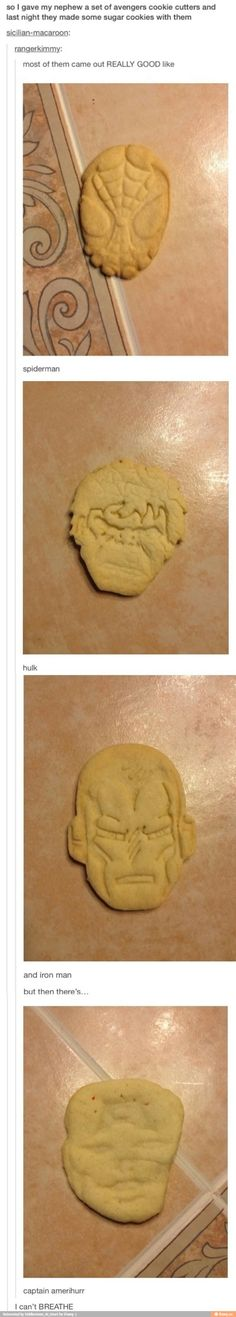 XD Marvel cookie cutters
