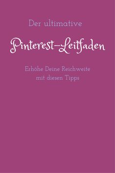 In diesem Leitfaden erkläre ich, wie Pinterest funktioniert und wie Du es für Dich nutzen kannst Online Marketing, Social Media Marketing, Content Marketing, Pinterest Co, Theories About The Universe, Self Employment, Instagram And Snapchat, Pinterest For Business, Business Inspiration