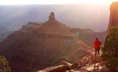 Guided trail running trips (Dead Horse Point Moab) yes, I do know him.