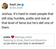 aww!!  That's why I love kpop.. the character and quality of the people in it.. it's inspiring and so refreshing to see...   Western pop culture is sickeningly fake and trashy...
