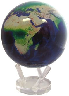 One of our favorites is the Mova Satellite View Natural Earth Revolving World Globe!!  This proves that globes don't have to be just educational or reference tools - they can also be gorgeous works of art!  With no batteries, no cords and striking, pristine mapping, this world globe is a perfect gift for the Executive in your life!  Surely this person will proudly display your gift in their office!  www.ultimateglobes.com