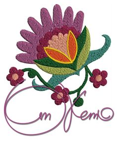 MACHINE EMBROIDERY FILE  Hungarian flower by OTKETO on Etsy, $4.99 #machine embroidery design #otketo
