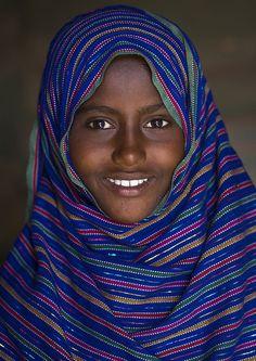 Afar Tribe Woman, Assaita, Ethiopia