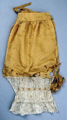 Drawers  Date: 1890s Culture: American (probably) Medium: silk