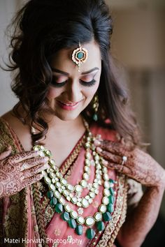 Bride Getting Ready http://www.maharaniweddings.com/gallery/photo/59884 @mateihorvath @nidagazi/my-style