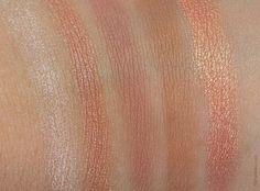 L'Oreal Paris La Palette Nude #01 Rose swatches part1