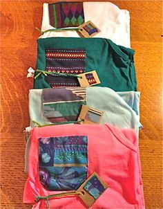 Pocket Tees! Customized Pocket Tanks & Tees - The Pocket Clothing... I accidentally just bought one of these