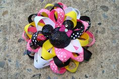 disney hair bow