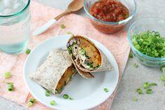 Butternut Squash Burritos with Black Beans and Kale Recipe -https://ohmyveggies.com/butternut-squash-burritos-with-black-beans-and-kale/?Utm_source=pinterest&utm_content=buffer006ea&utm_medium=social&utm_source=pinterest&utm_campaign=buffer