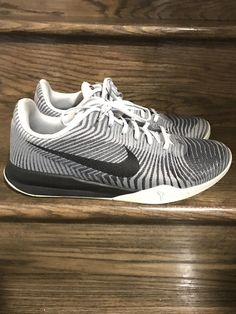 brand new 5edb3 a0879 Mens Nike Kobe KB Mentality II Low Wolf Grey Shoes Sz. 12 ID 818952-100