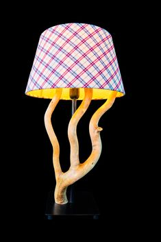 Table Lamp, Home Decor, Light Fixtures, Timber Wood, Homemade Home Decor, Table Lamps, Interior Design, Home Interiors, Decoration Home