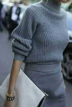 Winter outfit, stylish