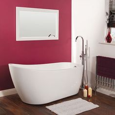 Indulge in luxury with our freestanding bath collection. Relax in total comfort & indulgent style & find your perfect freestanding bathtub at Big Bathroom Shop Bathroom Shop, Bathroom Crafts, Big Bathrooms, Amazing Bathrooms, Wall Mounted Bath Taps, Freestanding Taps, Entspannendes Bad, Hudson Reed, Bath Or Shower
