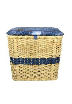 Rattan, Wicker, Color Plata, Color Beige, Laundry Basket, Picnic, Home Decor, Vintage Decorations, Home Decorations