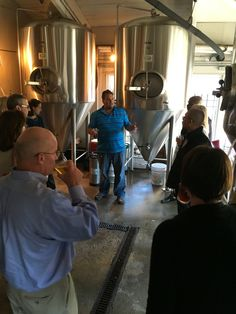 Brew tour with Kevin
