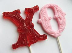 hard candy lollipops