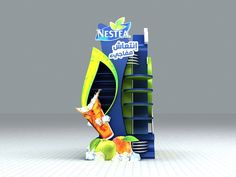 Nestea by Asaad Abbas, via Behance