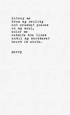 Whew dark but poetic