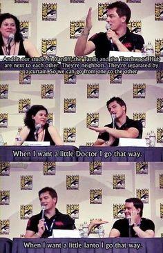 A little Doctor, A little Ianto. Oh, John.....