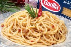 Pasta con la Mollica, Aglio, Olio e Peperoncino
