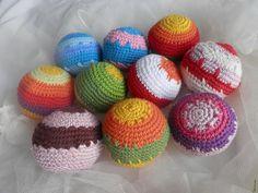 Babakézbe való pamut labdák