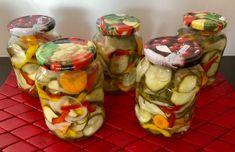 Sałatka z ogórków do słoików - Blog z apetytem Fresh Rolls, Cooking Recipes, Ethnic Recipes, Blog, Chef Recipes, Blogging, Recipes