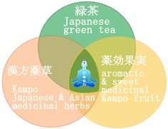 The Marriage of Kampo Medicinal Herbs & Kyushu Island Green Tea helps you to Lose Weight & Detox. It also helps Keep you Young. Weight loss, Detox & Anti-Aging Diet Tea  for Pleasure & Japanese Phytotherapy