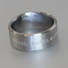 Custom made titanium ring manufacturers in South Africa Titanium Rings, Wedding Bands, Engagement Rings, Jewelry, Enagement Rings, Bijoux, Titanium Ring, Engagement Ring, Jewlery