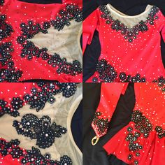 Custom Figure Skating dress with Lace and Swarovski crystals by Kelley Matthews Designs. Learn more about us at www.KelleyMatthewsDesigns.com and see more examples of my work- @kelleymatthews500. Roller Skating, Ice Skating, Ice Dance Dresses, Black Figure, Figure Skating Dresses, Tango, Skate, Swarovski Crystals, Gypsy