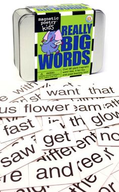 Magnetic Poetry Really Big Words Magnetic Poetry http://www.amazon.com/dp/B00003JATS/ref=cm_sw_r_pi_dp_wHa6tb1X3297E