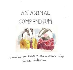 an animal compendium (great baby gift)