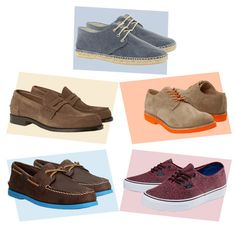 love these men's summer shoe picks from Stylitics! Top ones are the favorite here.