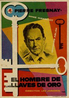 143.  MAC. El hombre de las llaves de oro. Dirigida por Léo Joannon. Barcelona: I. G. Viladot, [1956].  #ProgramasdeMano #BbtkULL #Diseñadores #MAC#DiadelLibro2014