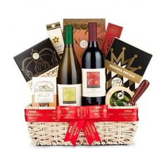 California Wine Selection Gift Basket   10275 from Print EZ