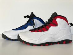 40dbb531b560 Nike Air Jordan X Retro 10 Class Of 2006 White Red Blue Men s Westbrook MVP   fashion  clothing  shoes  accessories  mensshoes  athleticshoes (ebay link)