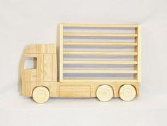 Wooden Truck Hanging Storage Display Shelf for by WhatAboutWood