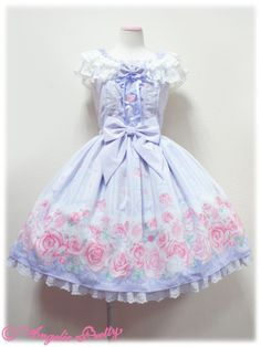 Romantic Rose Letter JSK from Angelic Pretty in lavender