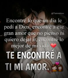 Frases de Reflexión My True Love, Sad Love, Love Phrases, Love Words, Spanish Quotes With Translation, Love In Spanish, Amor Quotes, Qoutes, Life Quotes