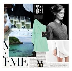 """""""11/09/2015"""" by ella-1 ❤ liked on Polyvore featuring Murphy, Diane Von Furstenberg, Balmain and MICHAEL Michael Kors"""