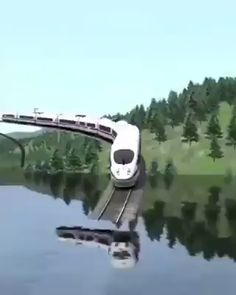 Train Going under water - Fari - Nature travel Beautiful Places To Travel, Cool Places To Visit, Scary Places, Nature Photography, Travel Photography, Travel Videos, Amazing Nature, Adventure Travel, Scenery