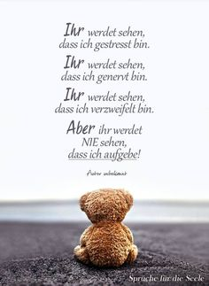 Calin Gif, Midnight Thoughts, German Quotes, Bear Pictures, Meaningful Words, True Words, Good Advice, Food For Thought, Positive Vibes