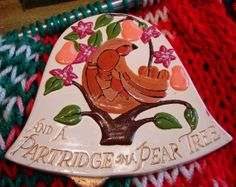 HOLIDAY SaLE  Christmas Vintage Ceramic 12 by NopalitoVintageMore, $15.00