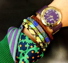 #leilei #fashion #trend #armcandy #savelives #women #Nepal #bracelets www.Lei-Lei.net with Marc Jacobs. #standout