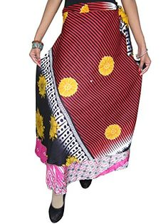 Womens Long Wrap Skirt Red Silk Sari Reversible Magic Wrap Around Skirt Mogul Interior http://www.amazon.com/dp/B00OUV6MIY/ref=cm_sw_r_pi_dp_e0ptub0G7D40Z