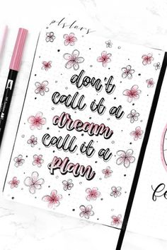 Inspirational Bullet Journal Quotes For Bujo Addicts - Crazy Laura Bullet Journal Tracker Ideas, Future Log Bullet Journal, Bullet Journal Quotes, Bullet Journal Aesthetic, Bullet Journal Notebook, Bullet Journal Ideas Pages, Bullet Journal Layout, Journal Pages, Journal Fonts
