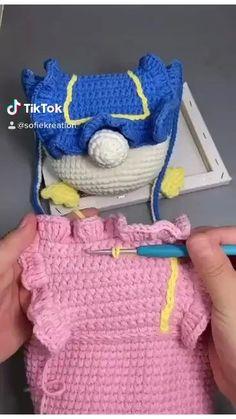 Mochila Crochet, Bag Crochet, Crochet Daisy, Crochet Purses, Love Crochet, Crochet Hair Accessories, Crochet Hair Styles, Crochet Amigurumi Free Patterns, Crochet Stitches