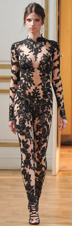 Zuhair Murad - Haute Couture - Fall 2013 (inspires me to wear lace)