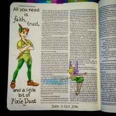 Bev Knaup bible journaling 2 Corinthians 5:7