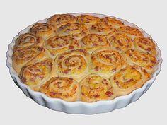 Pikanter Rosenkuchen