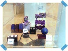 Le violet est la couleur de la confiance en soi et de l'indépendance. Que pensez-vous de notre sélection ? #violet #ceinture #cravate #noeudpapillon #bluelemonparis
